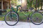 Zelfgemaakte kar fiets