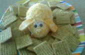 Bunny Rabbit kaas bal met Crackers
