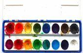 DIY: Maak je eigen aquarellen met alleen beker 2 ingrediënten!