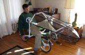 Methode voor het maken van 3D-vormen (gebruikt voor het maken van een fiets kuip)