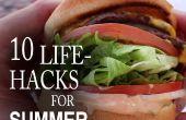 10 life Hacks die je moet weten voor een betere zomer!