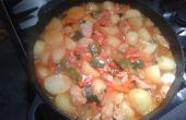 Aardappel-kip stoofpot