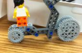 Wielen uitdaging vermelding: (HELS) zeer experimentele Lego Skateboard