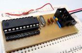 Maak een breadboard adapter voor uw AVR microcontroller