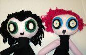 Vraag een ingenieur Powerpuff Girls stijl marionetten