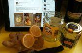 Honing, citroen & Ginger thee