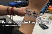 Geleidende patronen afdrukken op flexibele materiële TfCD