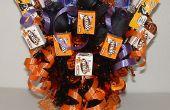 Halloween decoraties: Halloween Candy Bouquet