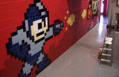 Mega Man 8-bit Mega muurschildering van keramische tegels