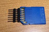 Goedkope DIY SD kaart breadboard socket