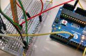 Servo bediening met een Flex/Bend Sensor