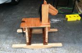 Rocking Horse Pallet kunst: Hoe maak je je eigen rustieke schommelpaard
