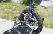 Eenwieler rek voor een motorfiets (de UniRack)