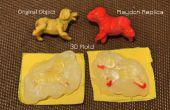 3D warme lijm mallen voor Play deeg modellen - MISLUKKEN