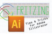 Snelle Tips en trucs bij het maken van Fritzing planken