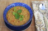 Kokos Curry linzensoep