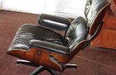 Eames Lounge Chair: rubber schok mount reparatie