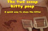 2 schep kitty kak methode - een werkelijk snelle manier om schoon het kitty nest