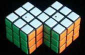 Hoe te maken en een siamese Rubiks kubus oplossen (mijn eerste instructable)