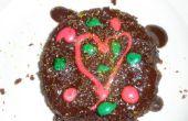 """Hoe maak je een eenvoudige bak""""chocoladetaart voor Kerstmis!"""