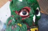 Zombie hoofd taart