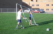 PVC voetbal doelen