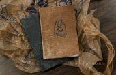 Zakformaat Notebooks met gerecycled Grocery Bag Covers