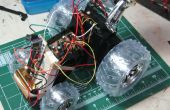 Robot-Platform met inbegrip van h-bruggen van $10 R/C auto