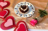 Love Is In The Air Heart Cakes
