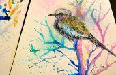 Hoe te schilderen van vogels in aquarel
