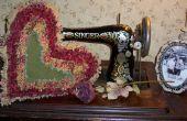 Hoe maak je een Vintage Raggedy hart kussen