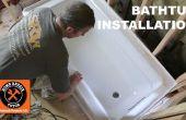 Het installeren van een badkuip (Maak het ROCK SOLID)