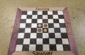 Laser-gesneden gepersonaliseerde Chess Board