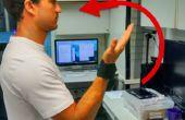 Versnellingsmeter gebaseerd gebaar erkenning voor het beheersen van een LED