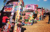 How to Paint alle Cadillac Ranch!