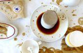 Natuurlijke sterven met thee & koffie