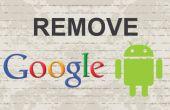 Hoe te verwijderen Google-account van Android
