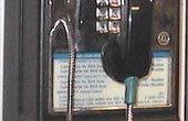 Het omzetten van een telefooncel voor thuisgebruik.