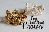 Kleine kralen kroon ¦ de hoek van Craft