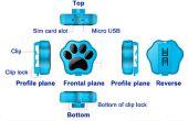 Slimme GPS tracker - huisdieren Anti verloren