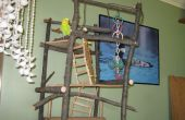 2 Story Budgie Playground