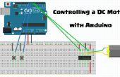Beheersing van een DC-Motor met Arduino