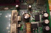 Hoe te repareren van condensatoren op computer moederborden en andere elektronische apparaten.