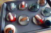 Hoe maak je (eetbare) griezelige dingen ingekapseld in een gelatine