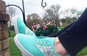 Bijgewerkt zadel schoenen