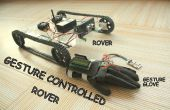 GEBAAR gecontroleerd Arduino gebaseerd Rover (Wireless + volgende lijn)