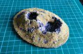 Krater terrein