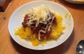 Super lage carb, glutenvrij, vegan Spaghetti Bolognese