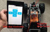 Externe controle van een speelgoed vrachtwagen via WiFi - gebruik van één LinkIt