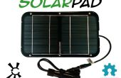 Open Source Solarpad Kit zonne-USB lader